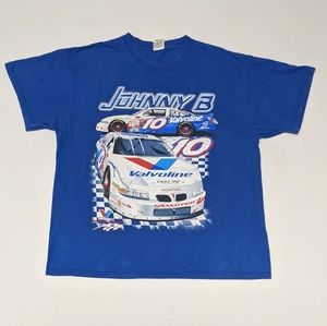 Vintage Shirts - 2001 Johnny B Nascar T-shirt